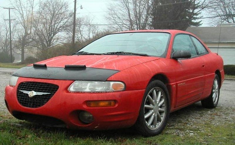 1995-2000 CHRYSLER Cirrus ES//LX//LXI Sebring JX JXi 2.5 2.5L AIR INTAKE KIT RED