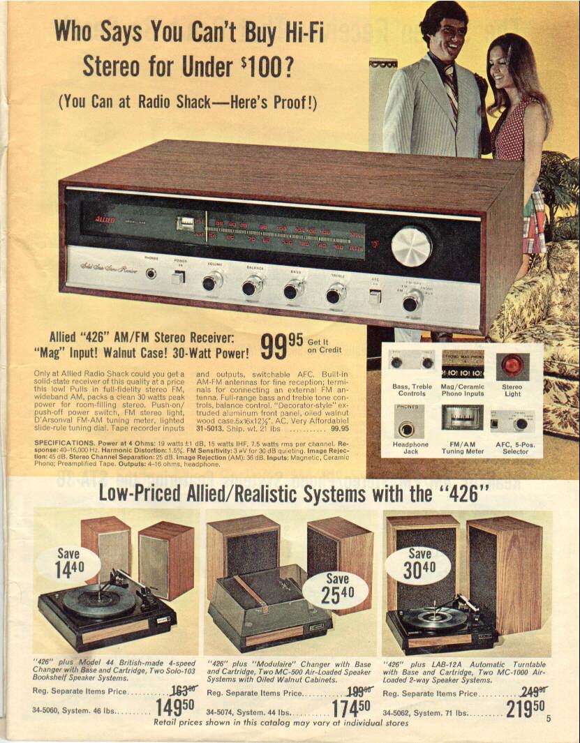 Shack catalogs radio vintage