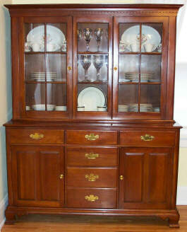 Buffet  Similar To Other Wildwood Pieces, But No Rope Motif Trim And Square  Rather Than Arched Doors