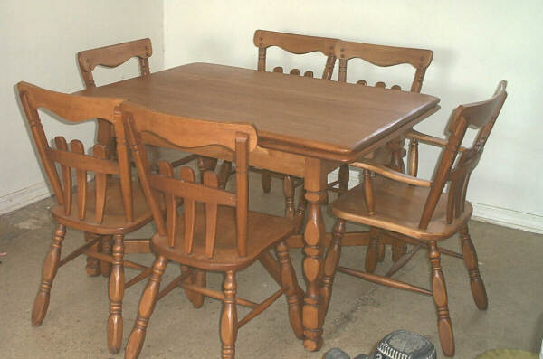 Maple Dining Room Furniture